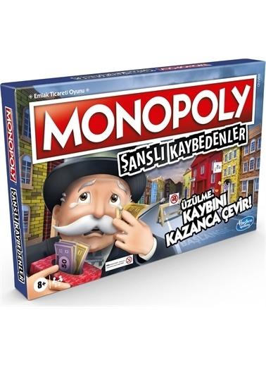 Hasbro Hasbro Monopoly Şanslı Kaybedenler Kutu Oyunu E9972 Renkli